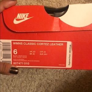 Nike Shoes - Women Nike Classic Cortez Leather